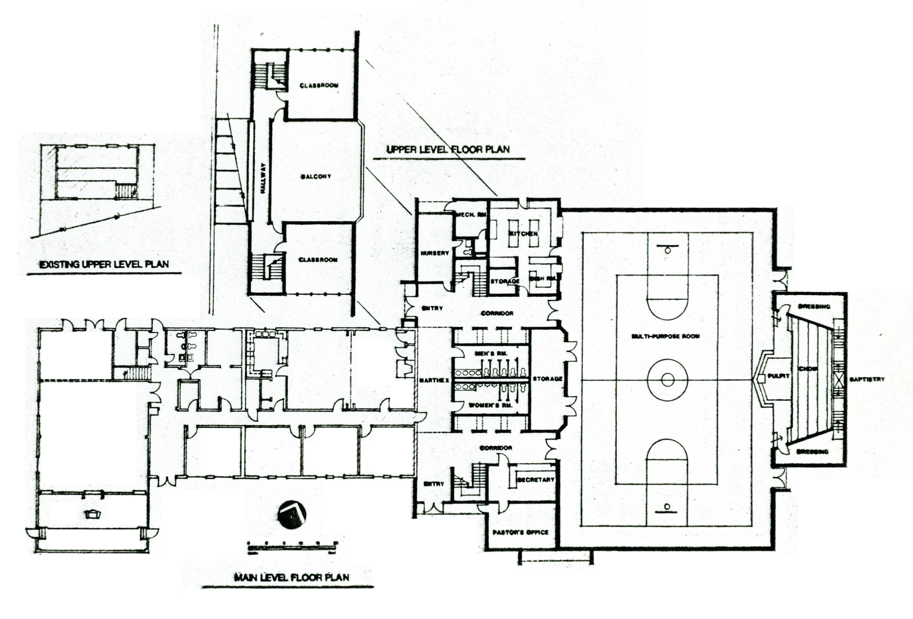 Church Floor Plan Designs Home Design  Elizabeth Horlemann